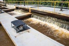 Zbiorniki dla uzdatnianie wody Zdjęcia Royalty Free