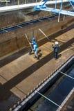 Zbiorniki dla uzdatnianie wody Zdjęcia Stock