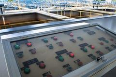 Zbiorniki dla uzdatnianie wody Zdjęcie Stock