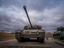 Zbiorniki przy Militarnymi muzeami, Calgary Obrazy Stock
