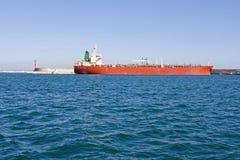 zbiornikowiec do ropy Fotografia Royalty Free