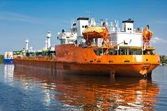 zbiornikowiec do ropy obrazy stock