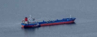 Zbiornikowiec do ropy Zdjęcie Royalty Free