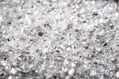 Zbliżenia abstrakt łamający krakingowy szkło stłuczone szkło tło sharecroppers Patrzeje jak węgiel obraz stock