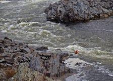 Zbliżać się Headwaters Fotografia Royalty Free