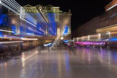 Zbliża plama wizerunki przy nocą w miejscu De Los angeles comédie cudowny Fotografia Royalty Free