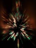 zbliżająca abstrakcjonistyczna choinka Obrazy Stock