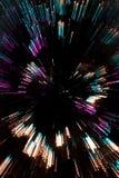 zbliżająca abstrakcjonistyczna choinka Obraz Royalty Free