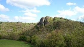 Zbliżający Out Rockowy krajobraz Obrazy Stock