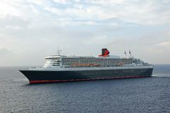 zbliżamy się do portu statek nowoczesny rejsu Fotografia Royalty Free