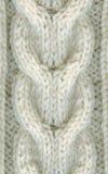 zbliżenia czerepu wełna puloweru zima wełna Zdjęcie Royalty Free