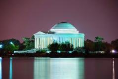 zbliżenia dc Jefferson pamiątkowy Thomas Washington fotografia royalty free