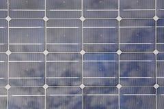 zbliżenia energetycznego przyszłościowego panelu przyszłościowi odnawialni oszczędzania słoneczni Obraz Royalty Free