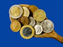 zbliżenia gospodarki target2904_0_ spoonful świat Obrazy Royalty Free