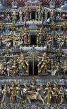 zbliżenia ind dachowa świątynia zdjęcia royalty free