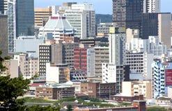 Zbliżenia miasta głąbik Środkowy Durban Południowa Afryka Obrazy Stock