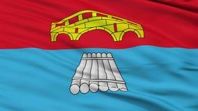 Zbliżenia Most miasta flaga, Białoruś zbiory