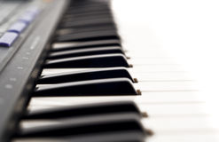 zbliżenia pianino krańcowy klawiaturowy zdjęcie royalty free