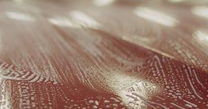 Zbliżenia samochodowego obmycia szamponu czerwony namok zdjęcia royalty free