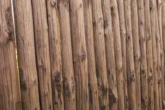 zbliżenia stary drewniany ogrodzenie notuje dalej formę częstokół zdjęcie royalty free
