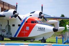 zbliżenia straży przybrzeżnej samolot Zdjęcie Stock