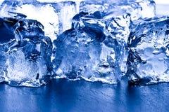 zbliżenia sześcianów lód Obrazy Stock