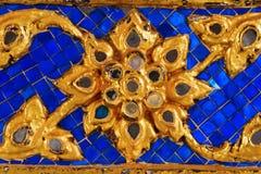 zbliżenia tajlandzki złoty stylowy Obrazy Royalty Free