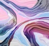 Zbliżenie abstrakta marmuru nawierzchniowy wzór przy kolorowego marmuru kamienia tekstury podłogowym tłem ilustracja wektor