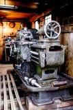 Zbliżenie antyk obsady żelaza maszyneria Fotografia Royalty Free