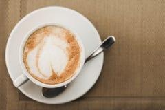Zbliżenie aromat kawa Zdjęcia Royalty Free