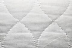 Zbliżenie Białego Hourglass tkaniny Background/Kształtna tekstura Fotografia Stock