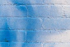 Zbliżenie biały ściana z cegieł Fotografia Stock