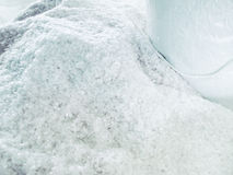 Zbliżenie Biały Sylikatowy Gel jako surowy materiał Obrazy Royalty Free