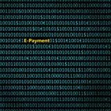 Zbliżenie binarny kod z inskrypcją, Zdjęcie Royalty Free