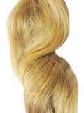 zbliżenie blond włosy obraz royalty free
