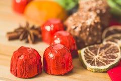 Zbliżenie czekolada Obrazy Royalty Free