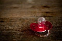 Zbliżenie czerwona silikonowa atrapa fotografia stock