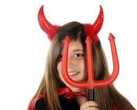 zbliżenie diabeł Fotografia Royalty Free
