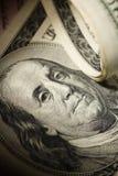 zbliżenie dolar obrazy royalty free