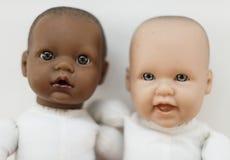Zbliżenie dziecko klonuje różnorodnego zdjęcie stock