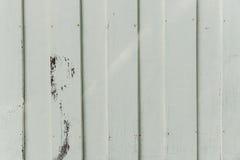 Zbliżenie farby twardego drzewa biała stara ściana Fotografia Royalty Free