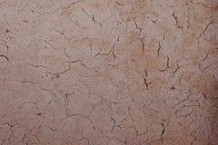 Zbliżenie gliny ściana Gliny powierzchnia może używać jako tło lub tło Odbitkowa przestrzeń dla teksta fotografia royalty free