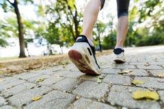Zbliżenie joggers cieki obraz stock