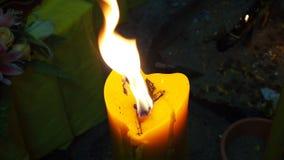 Zbliżenie kadzidÅ'a do spalania zdjęcie wideo