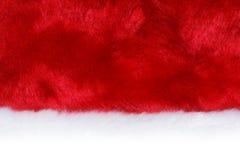zbliżenie kapelusz Santa Fotografia Royalty Free