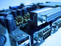 zbliżenie komputer zarządu Zdjęcia Stock