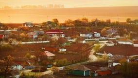 Zbliżenie mała wioska w Moldova w wiośnie Obrazy Stock