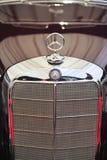 Klasyczny Mercedez logo Fotografia Royalty Free