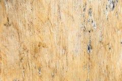 Zbliżenie natury tło stary żółty drewniany tekstury tło Zdjęcie Royalty Free