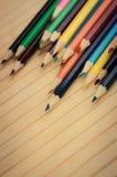 Zbliżenie ołówki Obrazy Stock